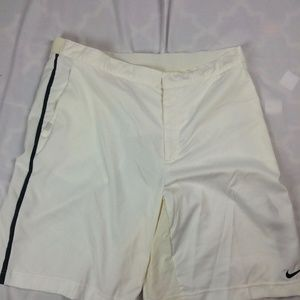 Mens XL Nike Tennis Shorts 9″ Power Tennis Roger F